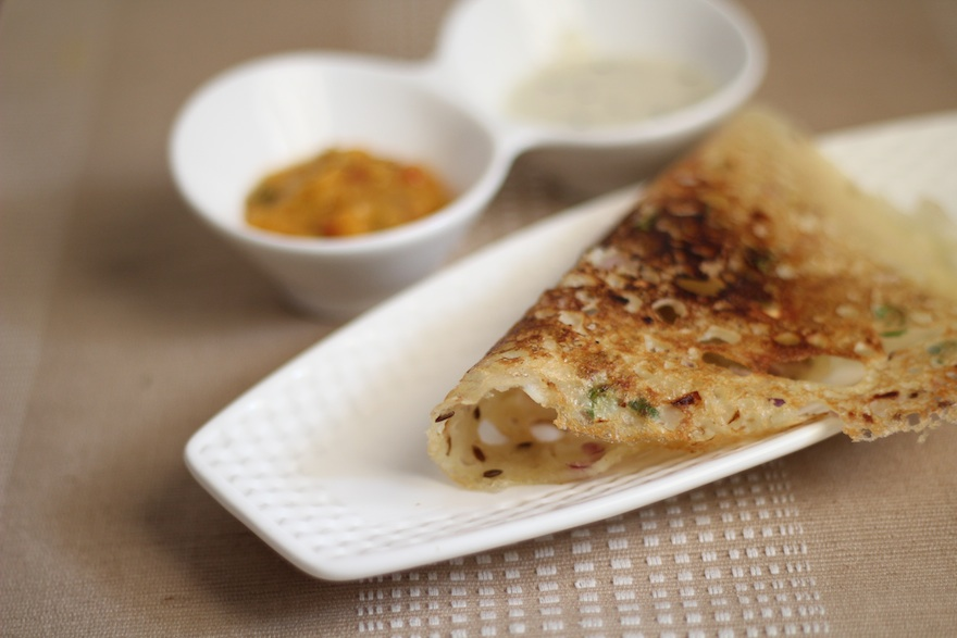 how to make rava dosa at home in marathi
